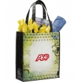 Laminated Non-Woven Vintage Collage Tote