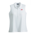 Womens Pique Sleeveless Polo