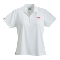 Womens Moreno Textured Micro Polo